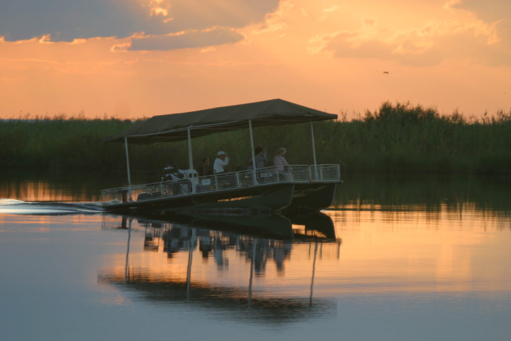 Chobe Fishe Eagle Boat Cruise